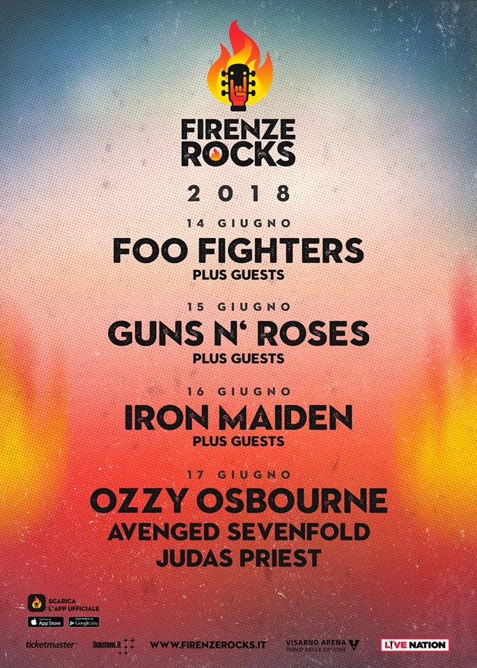 aa038186f FOO FIGHTERS - FIRENZE ROCKS   Zamboni 53 Official Store