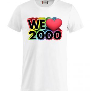 T-Shirt We Love 2000
